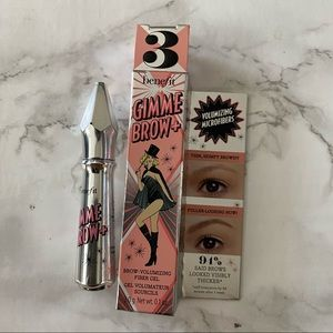 Benefit gimme brow + gel neutral light brown
